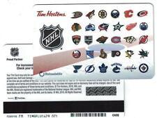Tim Hortons ( 2 ) 2016 NHL Team Logo Gift Cards