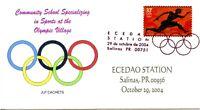 OLYMPIC CANCEL -  ECEDAO STATION  2004  OLY201