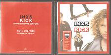 "INXS ""Kick 25"" Acetate Promo 3CD PVC Sleeve"