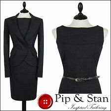 Checked Business Dress Suits for Women