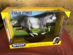 "Breyer Traditional ""Santiago"" Polo Pony - Smarty Jones mold"