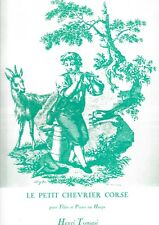 Le Petit Chevrier Corse -- Henri TOMASI -- FLute et Piano ou Harpe