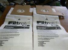 Filtrete 3M Eureka J Upright Vacuum (3) Vacuum Bags New.