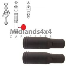 FOR HONDA STEP WAGON REAR SHOCK ABSORBER STRUT RUBBER BOOT DUST COVER SET