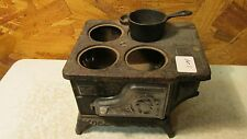 Antique Cast Iron Toy Stove Parts  No. 1
