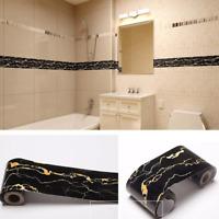 5m Waterproof Oil-proof PVC Wall Sticker Kitchen Bathroom Self Adhesive Decor