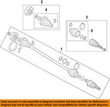 AUDI OEM 15-16 A3 Front Drive-CV Shaft Axle Assy 5Q0407272J