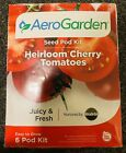 AEROGARDEN Hydroponic Herb Garden Red Heirloom Cherry Tomato Seed Pod 6 Kit NEW