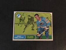 1968/69  TOPPS HOCKEY HIGH GRADE SET BREAK  #120   GARY  MELNYK    NM-MT