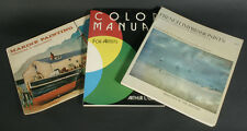 ART BOOKS FRENCH IMPRESSIONISTS, COLOR MANUAL FOR ARTISTS, AND MARINE PAINTING
