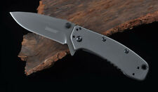 "Kershaw Cryo II 1556TBW 3.4"" TiCN Coating Plain Edge Folding Blade Pocket Knife"