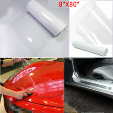 Clear Door Sill Edge Paint Protection Scratches Vinyl Film Sheet For All Car