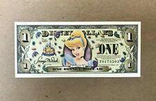 "2005 $1 Disney Dollar series ""T"". Cinderella  MINT"