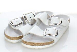 05-01 $135 Women's Sz 38 N Birkenstock Arizona Big Buckle Leather Footbed Sandal
