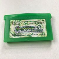 Pokemon Leaf Green Pocket Monsters Nintendo Japan Gameboy Advance GBA Japanese