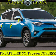 2013-2018 TOYOTA RAV4 Chrome Door Handle Covers + Mirror /Without Smart Key Hole