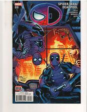 SPIDER-MAN/DEADPOOL #10, 1st PRINT, NM or better, Marvel Comics (December 2016)