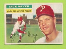 1956 Topps Grey Back - Jack Meyer (#269)  Philadelphia Phillies  -J-