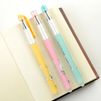 3PCS Erasable Gel Pens Blue Gel-ink Pens Writing Office School Supplies Simple