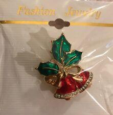 Christmas Bell Pin - Brand New - Fashion Jewelry