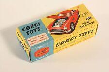 CORG TOYS 218, Aston Martin D.B. 4, ONLY BOX #ab2113