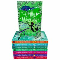 Emily windsnap 1 and 2 : 8 Books Collection Set By Liz Kessler Tail, Monster NEW