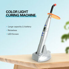 Dental Led Curing Light Lamp Composite Resin Cure Intensity 1500mwc Noiseless