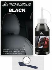 Black Leather and Vinyl Repair Kit - Furniture, Couch, Car Seats, Sofa, Jacket