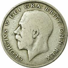 [#734012] Coin, Great Britain, George V, 1/2 Crown, 1921, VF(20-25), Silver