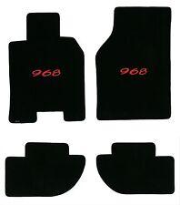 Lloyd Mats ULTIMAT LICENSED PORSCHE® 4PC MAT SET 1992-1995 Porsche 968 *Red Logo