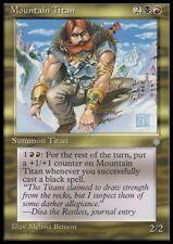 MTG 4x MOUNTAIN TITAN - Ice Age *Rare*