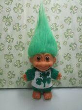 "IRISH CLOVER SWEATER TROLL - 5"" Russ Troll Doll - NEW - VERY RARE"