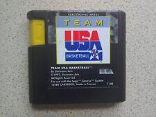 Team Usa Basketball-Sega Mega Drive Juego (probado-Envío Rápido-Pal)