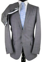 NWOT Suitsupply Suit Size US 40L Drop 8 Lazio Model in Gray Pure Wool Super 110s
