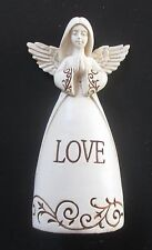 K Love Let all that you do be done in Love Faith ANGEL FIGURINE polystone Ganz