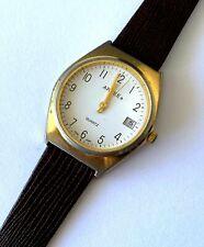 Arcee Date Quartz Hong Kong 20/2887 T205 Men's Wrist Watch Runs New Battery