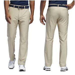 NWT $80 ADIDAS Ultimate 365 Men's UPF 50+ Golf Pants Khaki Size 46 x 38