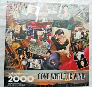Springbok Puzzle GONE WITH THE WIND Scarlett O'Hara 2000 pieces SEALED