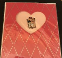 Warner Bros Bugs Bunny Pin With Card; Bugs Bunny; Valentine's Day Gifts; Brooch