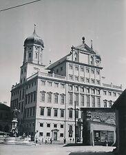 ALLEMAGNE c. 1958 - Fontaine  Hôtel de Ville  Augsbourg  - Div 10423