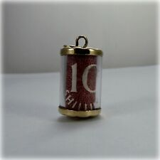 Vintage 9ct Gold 10/- Ten Shilling Note Charm