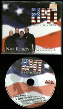 All-4-One ‎Not Ready 4 Goodbye CD single