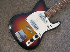 Jedson two pickup mini telecaster electric guitar - sixties - Japanese made.
