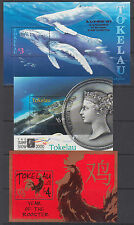 Tokelau Sc 242, 283, 335 MNH. 1997-2005 Souvenir Sheets, 3 different, VF