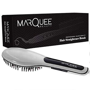 MarQuee Beauty Professional Hair Straightener Brush- 3 in 1