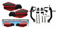 Powermadd Red / Black Star Handguards & Mount Kit Off-Road Motorcycles & ATV's
