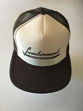 Nwot Vintage Speedway Lumbermen's Mesh SnapBack Trucker Hat Cap