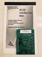 ENSONIQ MR-FLASH Sample Memory board MR-61/76 ZR-76 VAPORWARE!!