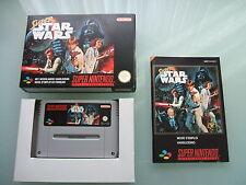 Super Star Wars (PAL, Nintendo SNES) complete