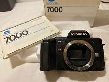 Minolta AF 7000 analog Spiegelreflexkamera  17041552